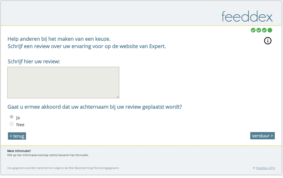 Review geven